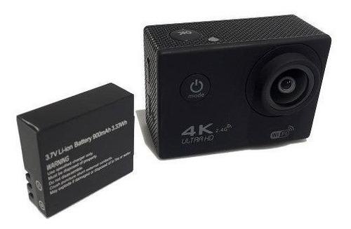 cámara sj pro 4k wifi + monopod· deportiva acuática 60fps hd