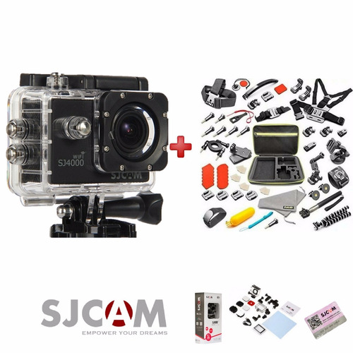 camara sj4000 wifi 2017 sjcam envio gratis+ kit gopro