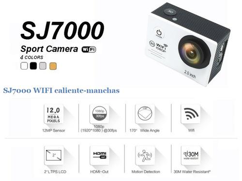 camara sj7000 wifi  led 1080p (full hd) original gran remate