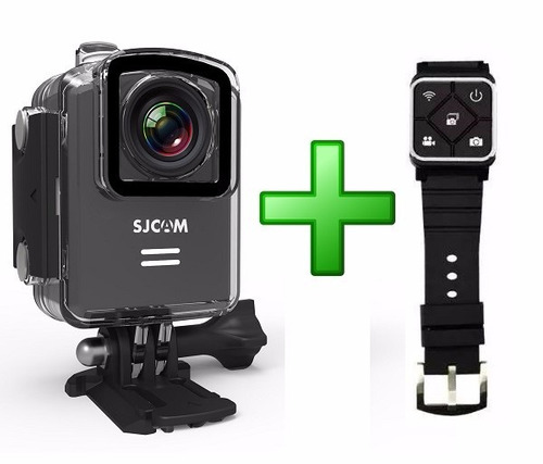 cámara sjcam m20 4k + control original sj4000 sj5000 sj5000x