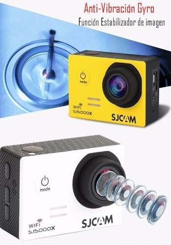 cámara sjcam sj5000x elite gyro 4k original versión 2018