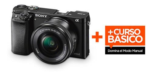 camara sony a6000 + lente e 16-50mm | 12c