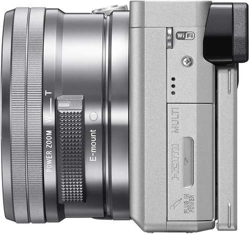 cámara sony a6300, con lente 16 - 50 mm. nueva