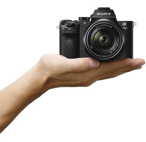 cámara sony a7 ii con lente 28-70mm a pedido