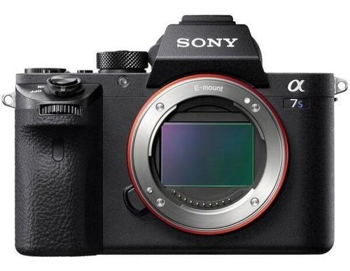 camara sony a7s ii alpha 7s ii full-frame mirrorless lente c
