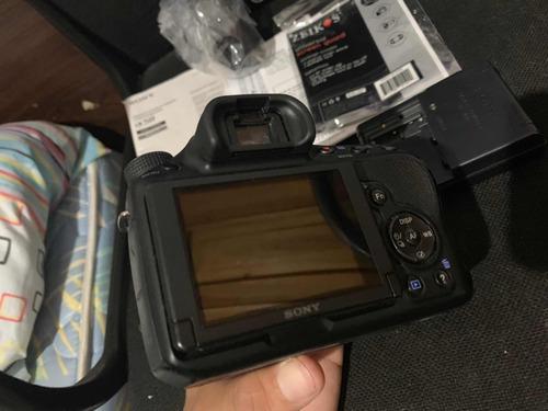 cámara sony alpha a58 accesorios casi nueva