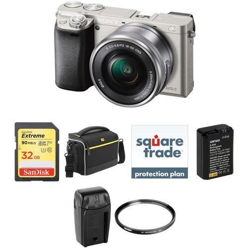 cámara sony alpha a6000 -16-50 (deluxe)