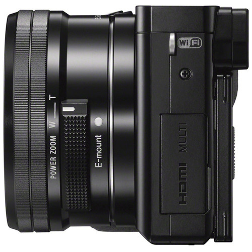 camara sony alpha a6000 ilce-6000 lente 16-50mm nueva 18msi