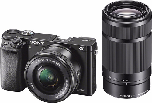 cámara  sony- alpha a6000 mirrorless