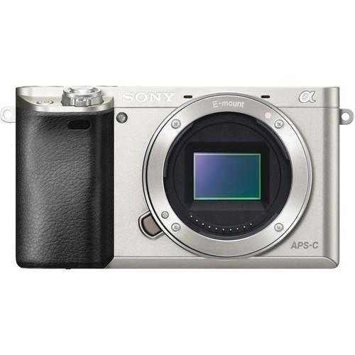cámara sony alpha a6000 (plateado)