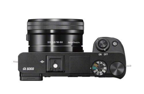 cámara sony alpha a6000 réflex sin espejo 24.3mp con bionz x