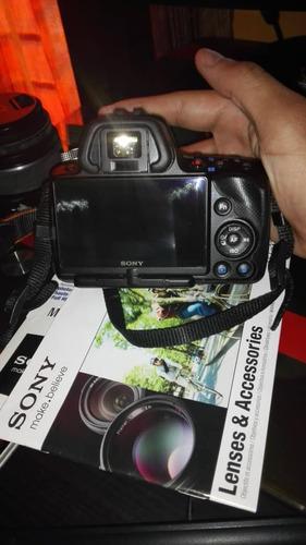 cámara sony alpha slt-a33l