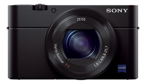 cámara sony avanzada de 20.1mp y lente zeiss - dsc-rx100m3