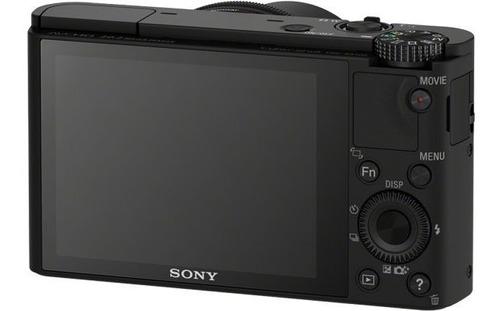 cámara sony avanzada de 20.2mp y lente zeiss - dsc-rx100