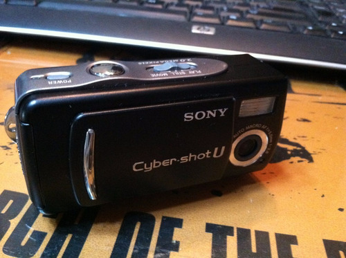 camara sony  ciber shot dsc-u20