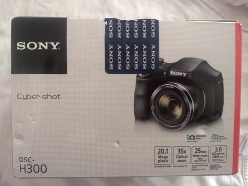 cámara sony ciber-shot h300
