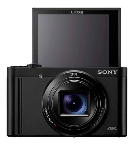 cámara sony compacta con hi-zoom y grabación 4k- dsc-wx800