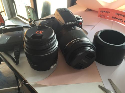 cámara sony con
