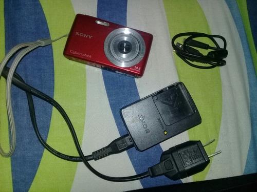 cámara sony cyber-shot 14.1 megapixeles.