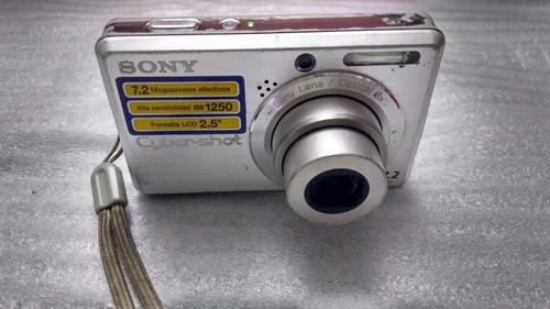 camara sony cyber-shot 7.2 dsc-s750
