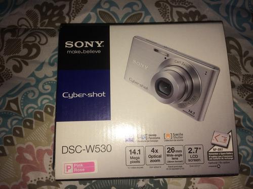 cámara sony cyber-shot dsc-w530 14.1 mp