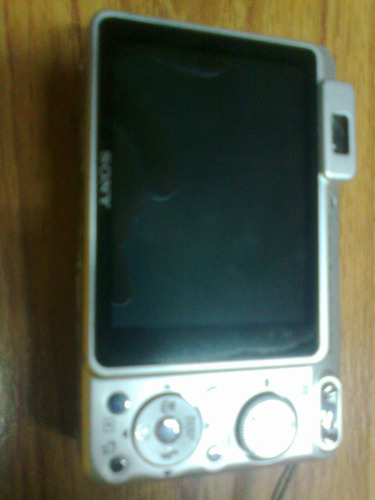 camara sony cybershot 8.1mp