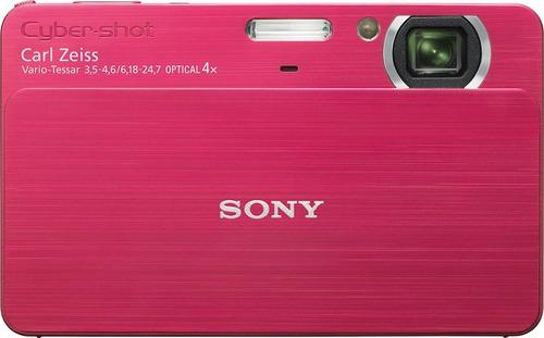 camara sony cybershot color rosa