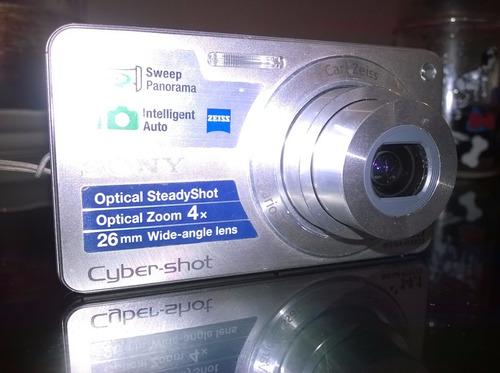 camara sony cybershot dsc w350 +memoria de 4gb+ funda