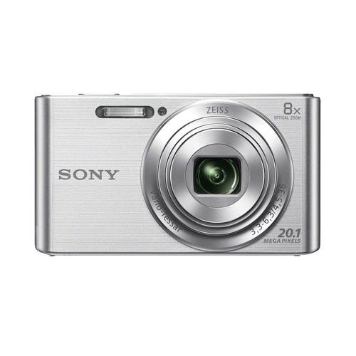 cámara sony de 20.1mp con zoom óptico de 8x - dsc-w830