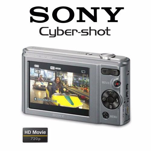 camara sony dsc-w810 cyber-shot 20.1 mega pixeles
