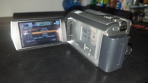 camara sony    hdd  80  gb  nunca mas casetes ni tarjetas