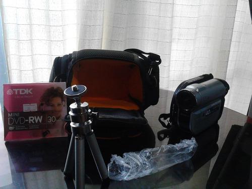 camara sony hybrid handdycam con tripode y cd