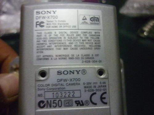 SONY DFW-X700 DRIVERS PC