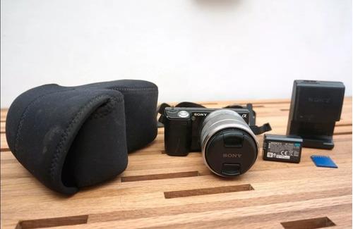 cámara sony nex 5 mirrorless fhd 60fps