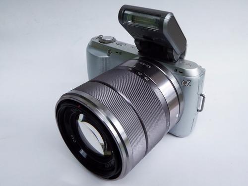 cámara sony nex c3 lente flash 16,2 megapixeles drivers caja