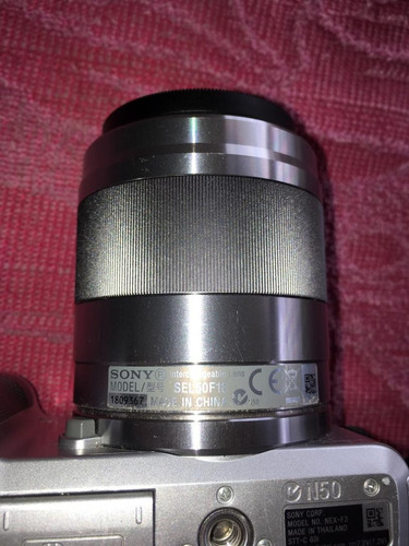 cámara sony nex f3