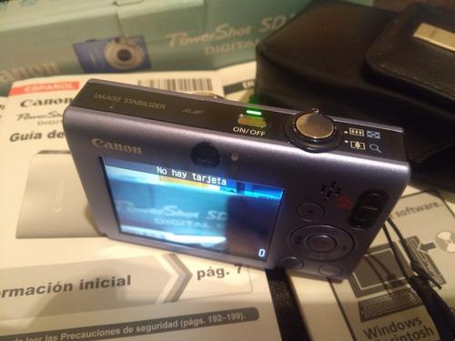 cámara sony powershot sd1100 is