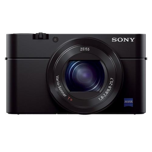 cámara sony rx100 iii avanzada con sensor tipo 1.0
