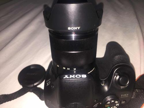 cámara sony semi profesional ilce 3000
