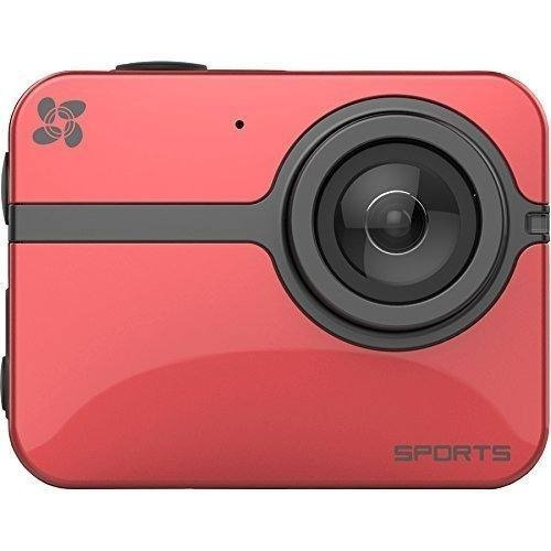 camara sport ezviz s5 16 mgp wifi roja gris moto - carro