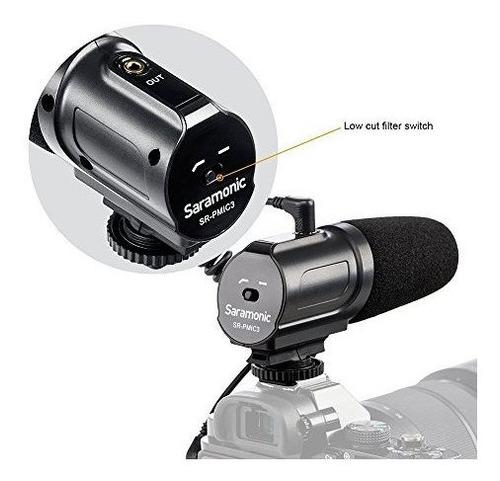 camara srpmic3 de saramonic microfono condensador de condens