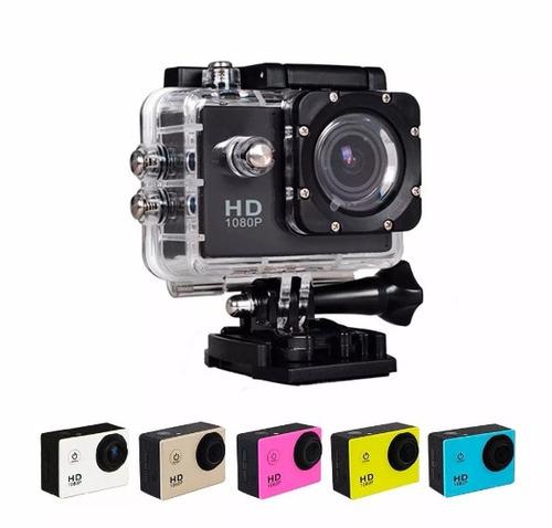 camara sumergible tipo full hd 1080p con accesorios
