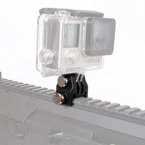camara tactica de accion del casco adaptador fijo nvg mountf
