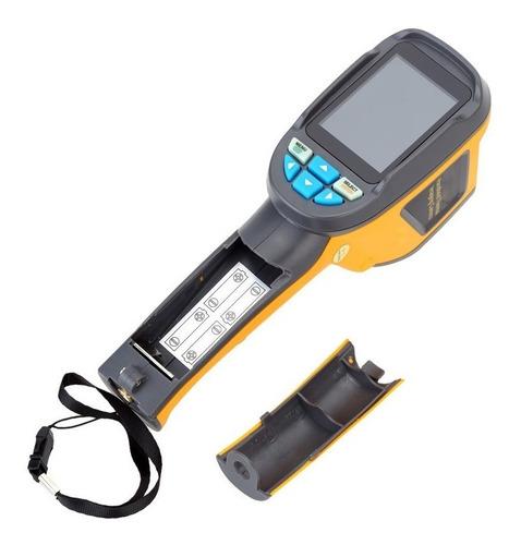 cámara termográfica 60x60 temperatura radiación infrarroja