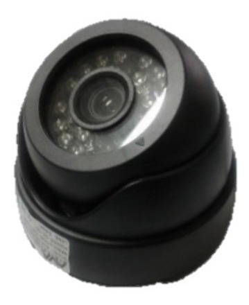 cámara tipo domo analógica 1/4´´ 700tvl  marca ava.