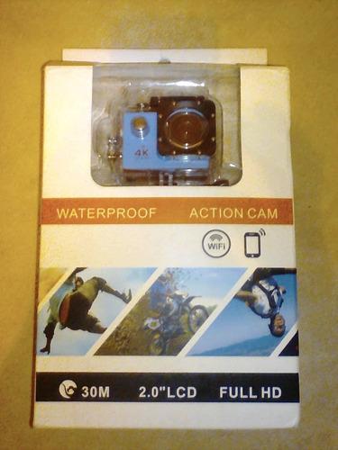 camara tipo gopro 4k ultra hd wifi sumergible en agua