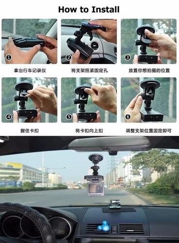 camara vehículo carro 1080p car dash cam dvr vision nocturna