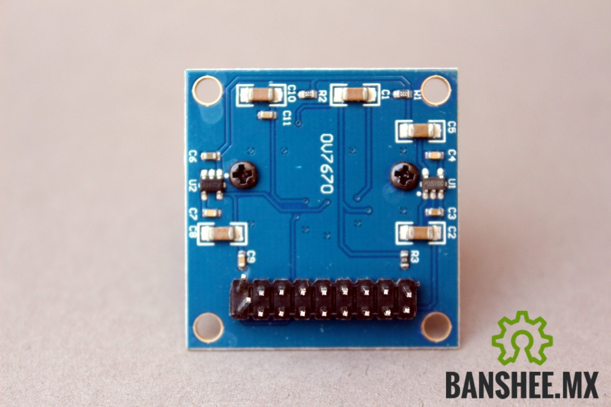 Camara Vga Cmos Ov7670 Arduino Raspberry Pi Pic Avr