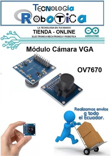 camara vga ov7670 en modulo arduino uno mega