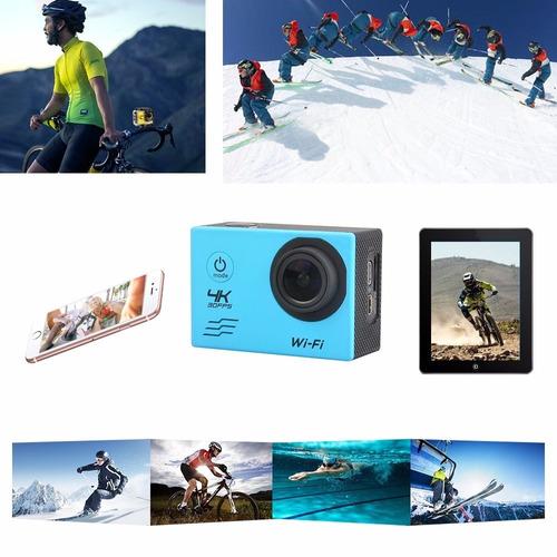 camara video acción 4k wifi 16mpx sumergible 30 mts +microsd